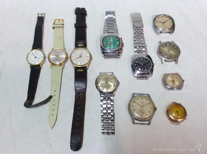 Lote De Relojes Lote De Relojes Variados Antiguos