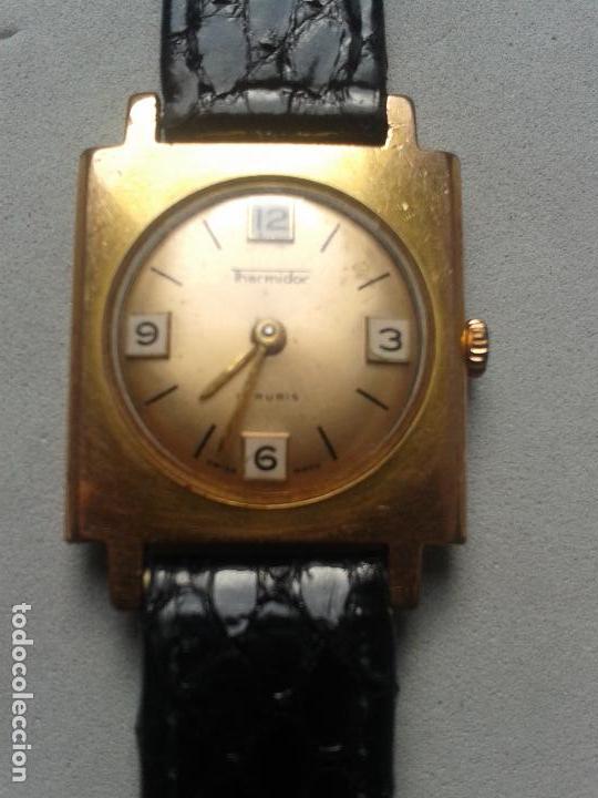 RELOJ DE CUERDA DE SEÑORITA. MARCA THERMIDOR. SWISS MADE. (Relojes - Pulsera Carga Manual)