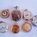 Relojes de pulsera: LOTE DE 7 RELOJES BOLSILLO MECANICOS PW14. Lote 122478395
