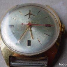 Relojes de pulsera: RELOJ MANUAL RUSO RAKETA AEROFLOT. Lote 62449980