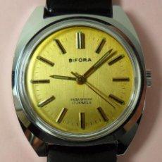 Relojes de pulsera: VINTAGE RELOJ BIFORA MECÁNICO DE PULSERA PARA HOMBRE. AÑOS 70 - 17 JEWELS. Lote 62564008