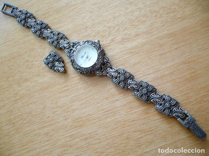 d9e63a32e204 Elegante reloj - joya de plata de diseño thermi - Vendido en Venta ...