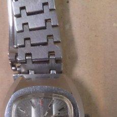 Relojes de pulsera: RELOJ DE CABALLERO EDOX, CARGA MANUAL, FUNCIONANDO. Lote 63093636