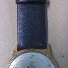 Relojes de pulsera: RELOJ DE CABALLERO CYMA, EN ORO, CARGA MANUAL, FUNCIONANDO. Lote 63099488