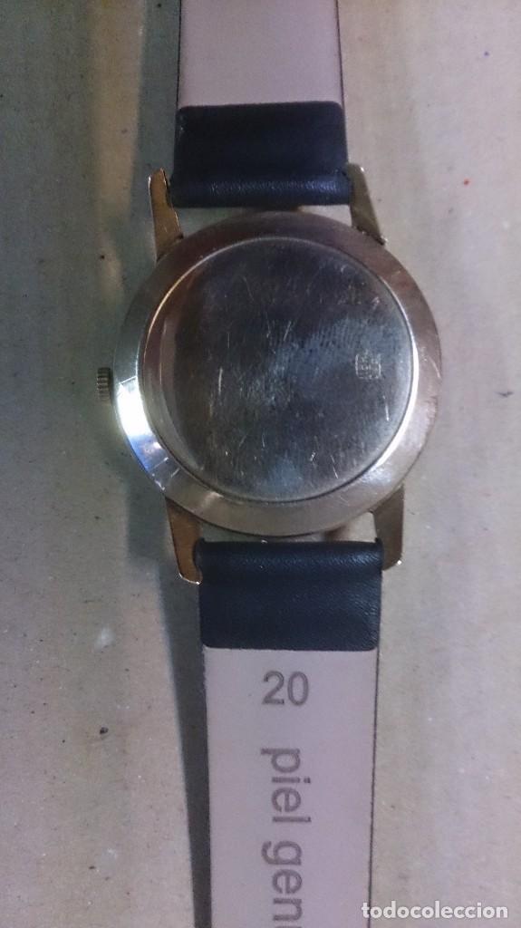 Relojes de pulsera: Reloj de caballero Cyma, en oro, carga manual, funcionando - Foto 5 - 63099488