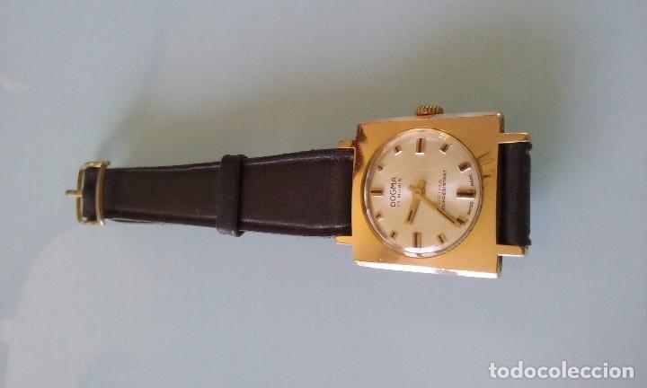 Relojes de pulsera: RELOJ MARCA DOGMA DE MUJER BAÑADO EN ORO 17 RUBIES AÑOS 50-60 - Foto 2 - 63480896