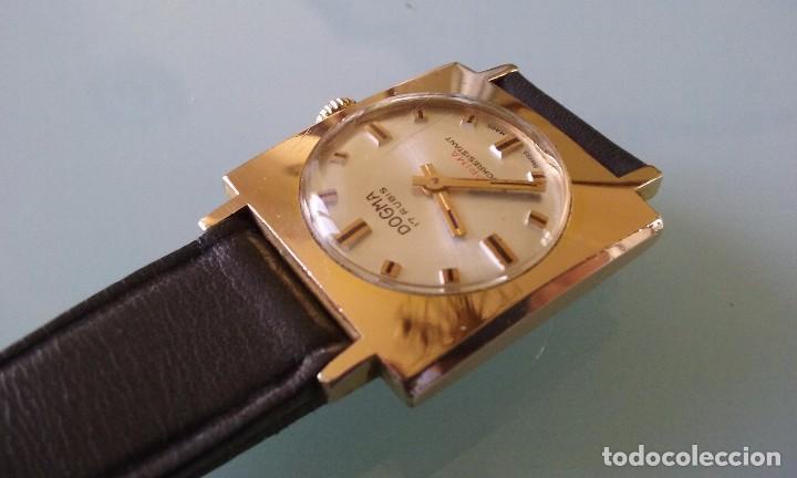 Relojes de pulsera: RELOJ MARCA DOGMA DE MUJER BAÑADO EN ORO 17 RUBIES AÑOS 50-60 - Foto 5 - 63480896