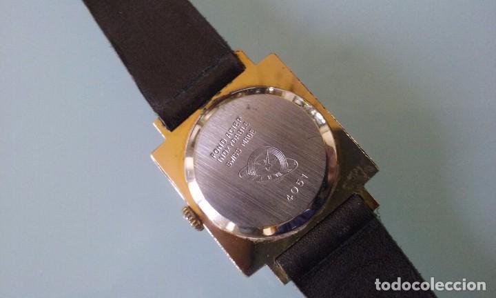 Relojes de pulsera: RELOJ MARCA DOGMA DE MUJER BAÑADO EN ORO 17 RUBIES AÑOS 50-60 - Foto 6 - 63480896