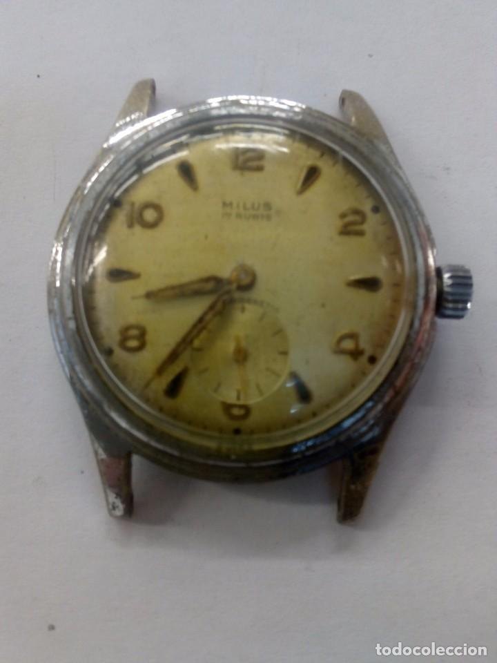 antiguo reloj milus - Comprar Relojes antiguos de pulsera carga ... e633d3bb1945