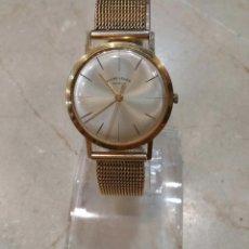 Relojes de pulsera: RELOJ FAVRE-LEUVA VINTAGE AÑOS 60-70 CHAPADO ORO. Lote 63821543