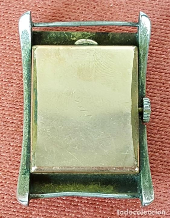 Relojes de pulsera: RE415. RELOJ DE PULSERA. MARCA CONTY. ESFERA EN NACAR. 15 RUBIS. CIRCA 1940 - Foto 2 - 63904395