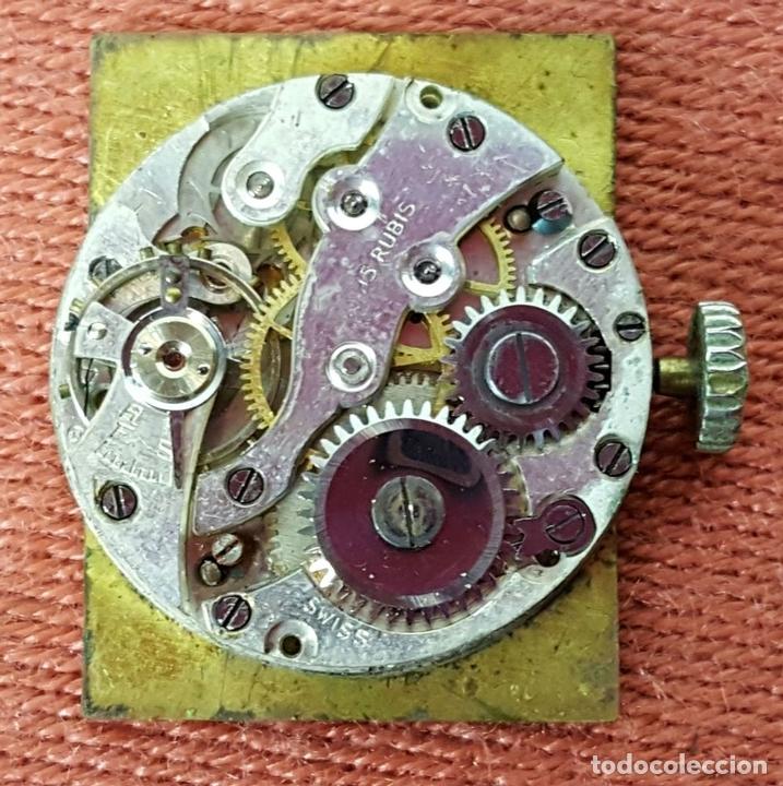 Relojes de pulsera: RE415. RELOJ DE PULSERA. MARCA CONTY. ESFERA EN NACAR. 15 RUBIS. CIRCA 1940 - Foto 3 - 63904395