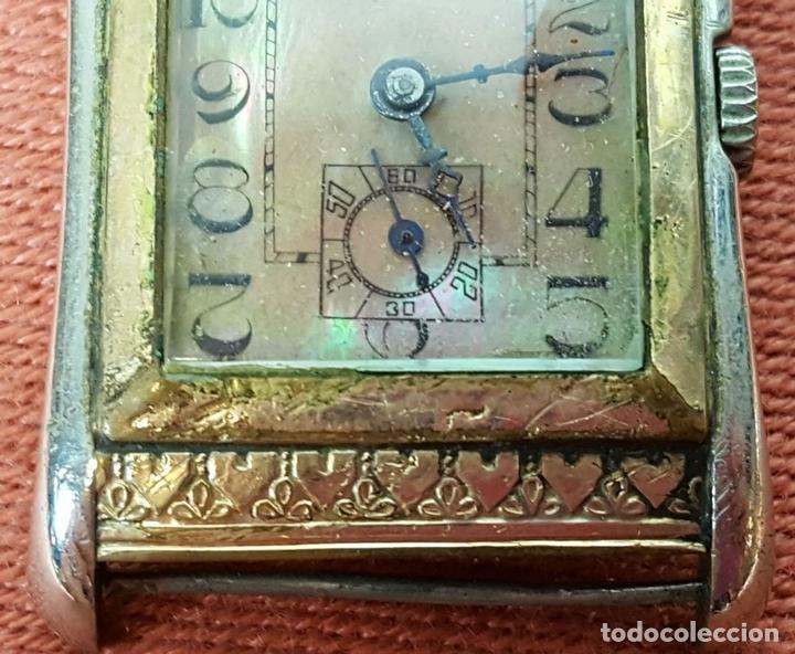 Relojes de pulsera: RE415. RELOJ DE PULSERA. MARCA CONTY. ESFERA EN NACAR. 15 RUBIS. CIRCA 1940 - Foto 4 - 63904395