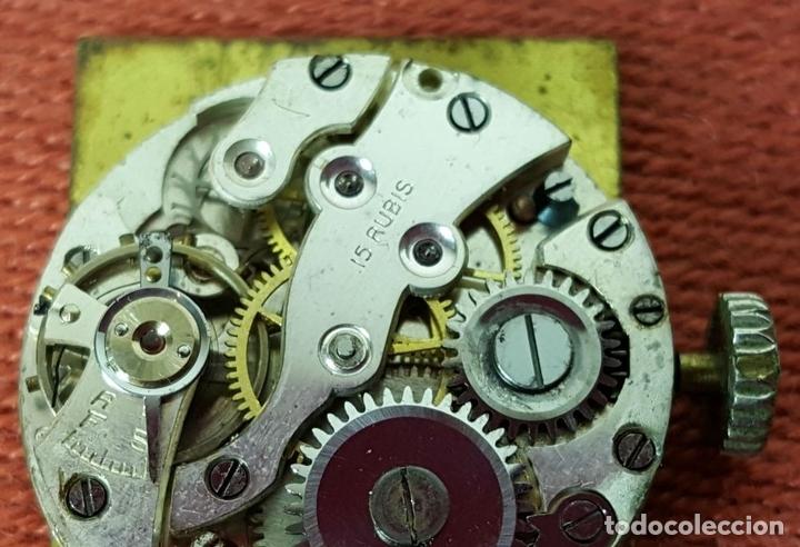 Relojes de pulsera: RE415. RELOJ DE PULSERA. MARCA CONTY. ESFERA EN NACAR. 15 RUBIS. CIRCA 1940 - Foto 9 - 63904395