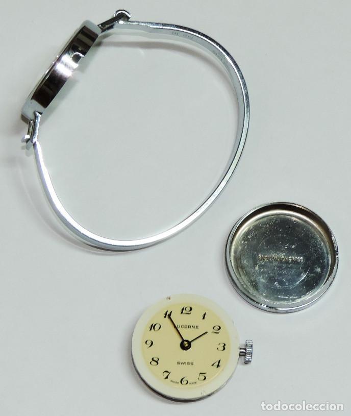 Relojes de pulsera: LUCERNE SUIZO MECANICO DE CUERDA AÑO 1.974 - Foto 5 - 64064483