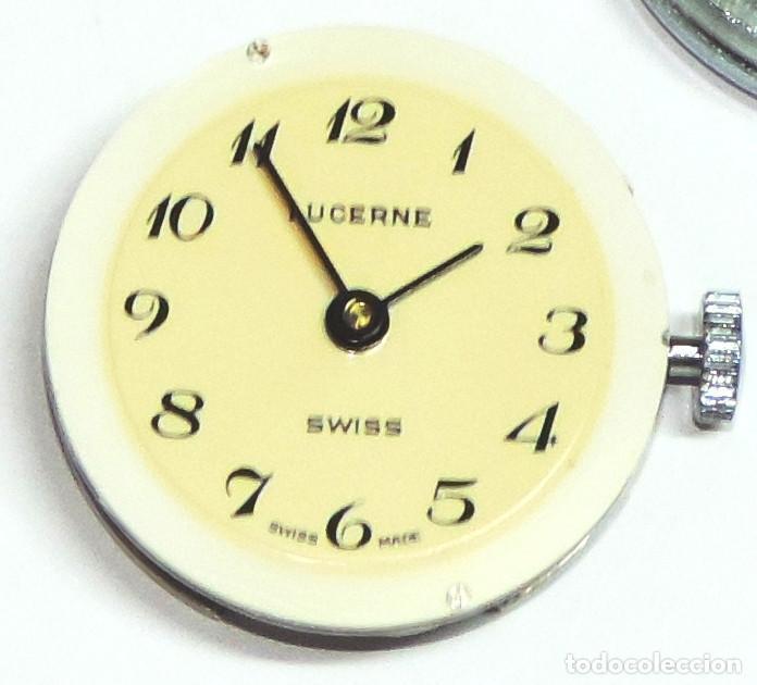 Relojes de pulsera: LUCERNE SUIZO MECANICO DE CUERDA AÑO 1.974 - Foto 7 - 64064483