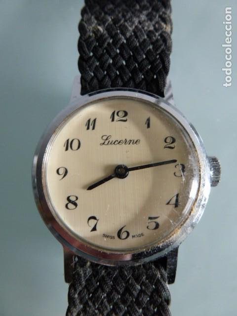 RELOJ DE PULSERA LUCERNE. NO ESTA PROBADO (Relojes - Pulsera Carga Manual)