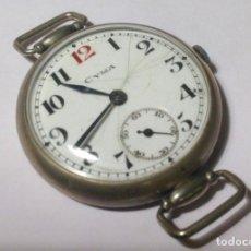 Relojes de pulsera: RELOJ DE TRINCHERA CYMA PRIMERA GUERRA MUNDIAL. VINTAGE. MILITAR. FUNCIONA. Lote 64343695
