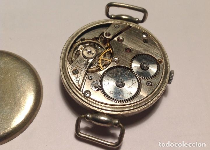 Relojes de pulsera: Reloj de trinchera Cyma primera guerra mundial. Vintage. Militar. Funciona - Foto 3 - 64343695