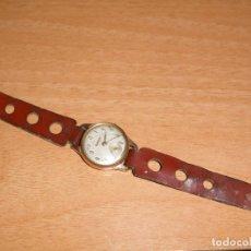 Relojes de pulsera: RELOJ CAUNY PRIMA ANTIMAGNETIC 15 RUBIS CHAPADO EN ORO 10 MICRONS. Lote 64527331