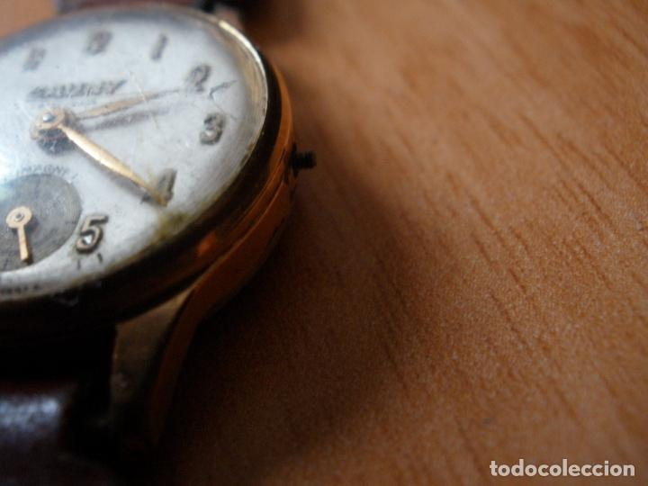 Relojes de pulsera: RELOJ CAUNY PRIMA ANTIMAGNETIC 15 RUBIS CHAPADO EN ORO 10 MICRONS - Foto 3 - 64527331