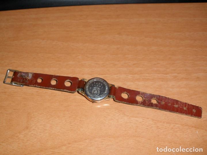 Relojes de pulsera: RELOJ CAUNY PRIMA ANTIMAGNETIC 15 RUBIS CHAPADO EN ORO 10 MICRONS - Foto 4 - 64527331