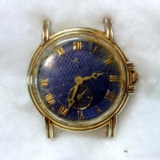 Relojes de pulsera: RELOJ MUÑECA SRA. LOTUS QUARTZ. CHAPADO EN ORO, WATER RESISTANT. EN FUNCIONAMIENTO. Lote 65528446