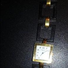 Relojes de pulsera: RELOJ CERTINA, MUJER, CUADRADO, CUERDA MANUAL,CON PULSERA DE ORIGEN. AÑOS 1950. Lote 66234818