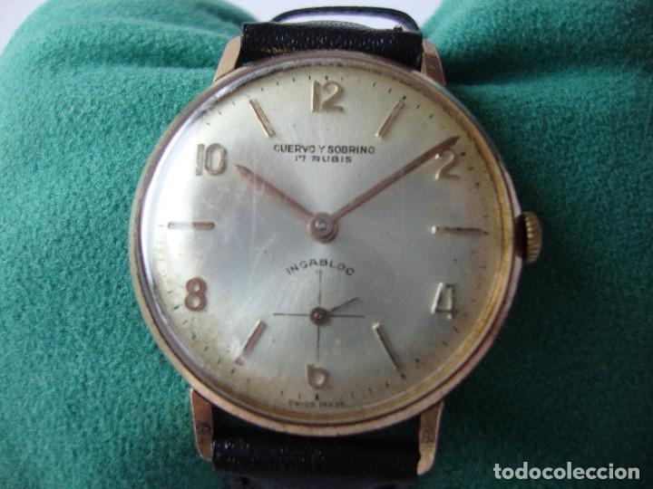 ec8306b4d Antiguo reloj cuervo y sobrino - Vendido en Subasta - 66860698