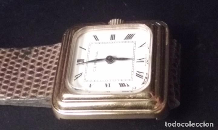 Relojes de pulsera: RELOJ MUJER CERTINA CARGA MANUAL CAJA ORO 40 MICRAS AÑOS 70 - Foto 4 - 67756521