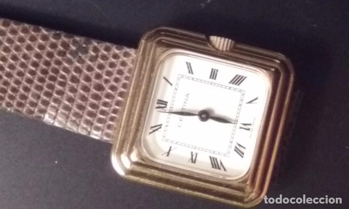 Relojes de pulsera: RELOJ MUJER CERTINA CARGA MANUAL CAJA ORO 40 MICRAS AÑOS 70 - Foto 5 - 67756521