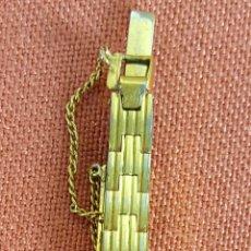 Relojes de pulsera: RE465. RELOJ DE PULSERA.FORTIS. 17 RUBIS, ORO DE 20 MICRONS.SUIZA. CIRCA 1950. . Lote 67819429