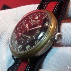 Relojes de pulsera: RELOJ DE CUERDA ESTILO AVIADOR VINTAGE. Lote 68331945