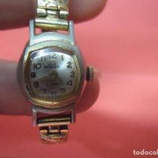 Relojes de pulsera: RELOJ SEÑORA - BULER - 17 JEWELS - NO FUNCIONA. Lote 68515357