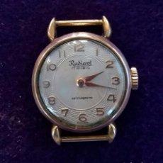 Relojes de pulsera: RELOJ DE SEÑORA RADIANT DE CARGA MANUAL. 17 RUBIS. FABRICACION SUIZA. FUNCIONANDO. AÑOS 50 - 60.. Lote 68580125