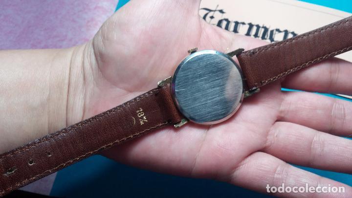Relojes de pulsera: Botito reloj de cuerda Cyma, antiquisimo, de hombre, funcionando, grande, hermoso, lindo, chapado - Foto 12 - 68612953