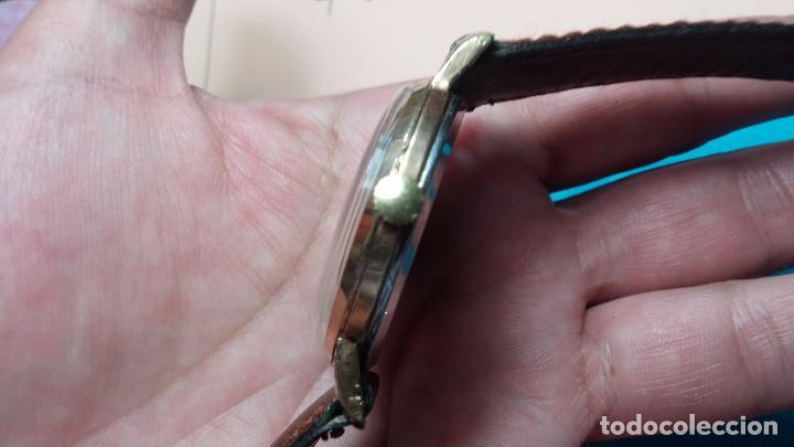 Relojes de pulsera: Botito reloj de cuerda Cyma, antiquisimo, de hombre, funcionando, grande, hermoso, lindo, chapado - Foto 14 - 68612953