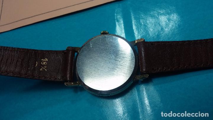 Relojes de pulsera: Botito reloj de cuerda Cyma, antiquisimo, de hombre, funcionando, grande, hermoso, lindo, chapado - Foto 18 - 68612953
