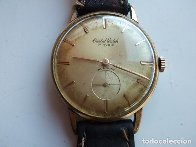 antiguo reloj cristal watch 17 rubis barato 6f71b15732d1