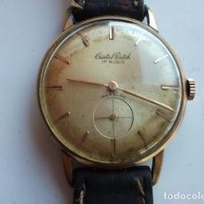 Relojes de pulsera: ANTIGUO RELOJ CRISTAL WATCH 17 RUBIS BARATO,FUNCIONA BIEN. Lote 69009465