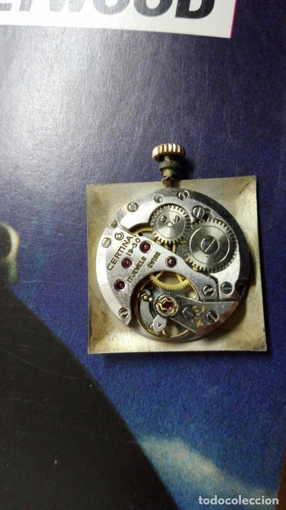 Relojes de pulsera: CERTINA . CHAPADO EN ORO G 20. 19¨- 30 .17 RUBIES SWISS FUNCIONANDO - Foto 2 - 69526713