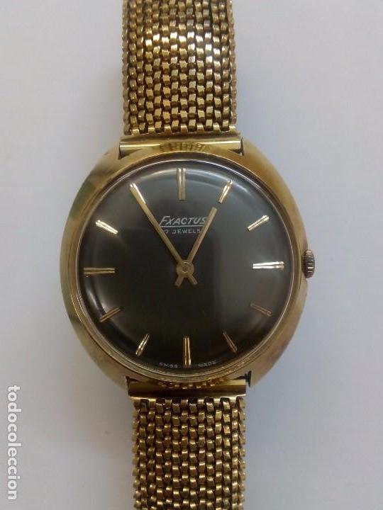 PRECIOSO RELOJ EXACTUS (Relojes - Pulsera Carga Manual)