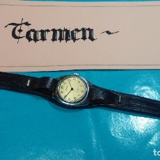 Relojes de pulsera: BOTITO RELOJ DE CUERDA LEONIX, MUY ANTIGUO, FUNCIONANDO. Lote 70253161