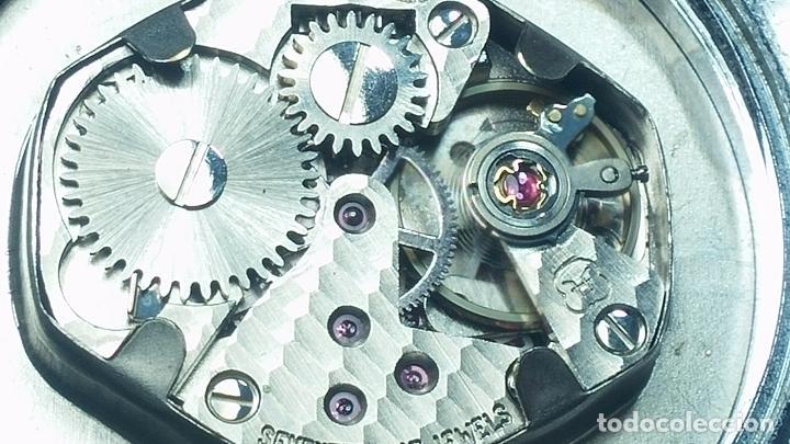 Relojes de pulsera: Botito reloj de cuerda Leonix, muy antiguo, funcionando - Foto 19 - 70253161
