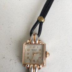 Relojes de pulsera: ANTIGUO RELOJ DE SEÑORA- BERVE 15 RUBIS- SWISS MADE- FUNCIONANDO. Lote 70294186