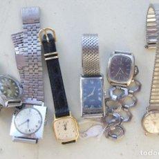 Relojes de pulsera: LOTE DE 6 RELOJES MECANICOS CERTINA, DUWARD... C20. Lote 70370301