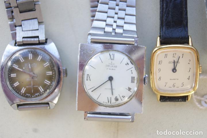 Relojes de pulsera: LOTE DE 6 RELOJES MECANICOS CERTINA, DUWARD... C20 - Foto 2 - 70370301