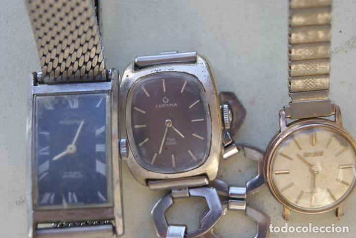 Relojes de pulsera: LOTE DE 6 RELOJES MECANICOS CERTINA, DUWARD... C20 - Foto 3 - 70370301