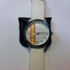 Relojes de pulsera: RELOJ MUÑECA BANDERA ESPAÑA. Lote 71410147
