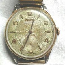 Relojes de pulsera: RELOJ PULSERA DOGMA PRIMA AÑOS 50, CON CORREA FIXO FLEX, VINTAGE. MED. 38 MM SIN CONTAR CORONA. Lote 84025707